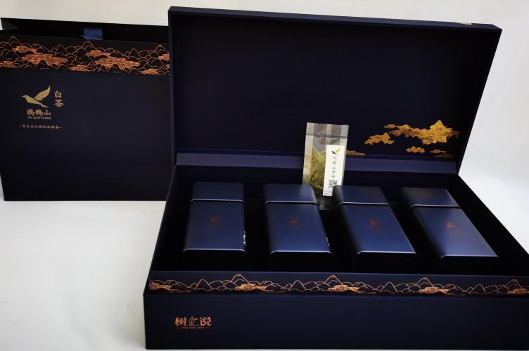 一般的茶叶礼盒多重?高档茶礼配置是不是越重越好?【鸦鹊山】