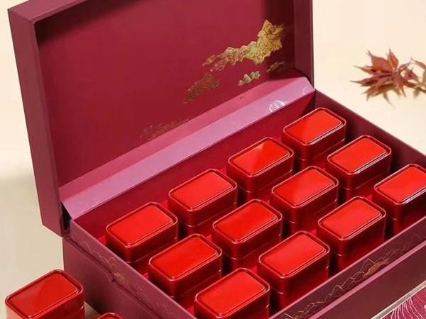 """婚礼茶叶礼盒:以茶行聘,寓意爱情""""坚贞不移""""【鸦鹊山】"""