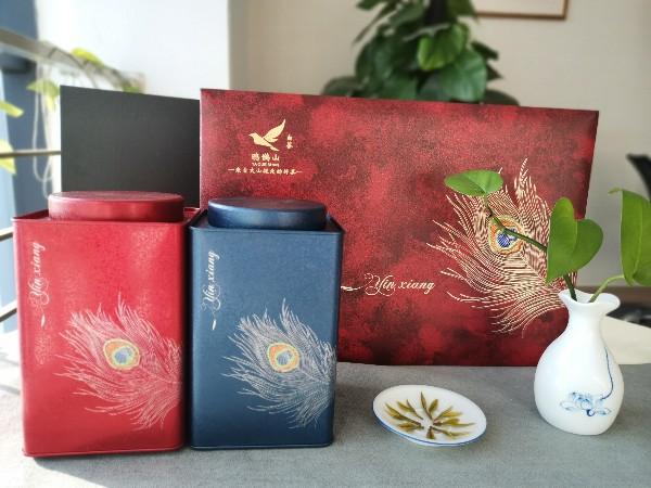 白茶茶叶礼盒装,匠心制作,只为一杯好茶【鸦鹊山】