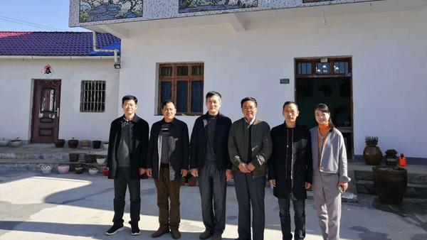 鸦鹊山-中国乡村发展促进会执行会长考察指导工作