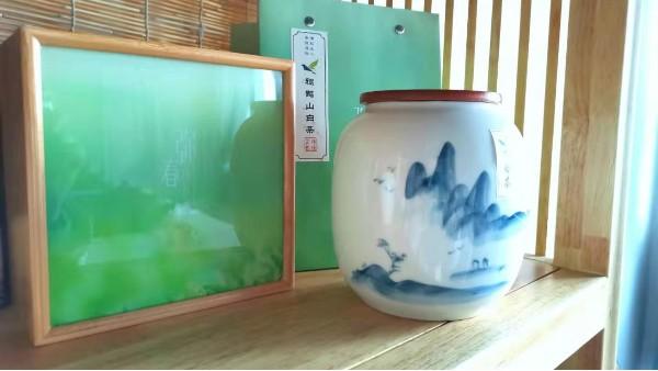 雅致陶瓷罐茶叶礼盒:用陶瓷罐子放茶叶的好处【鸦鹊山】