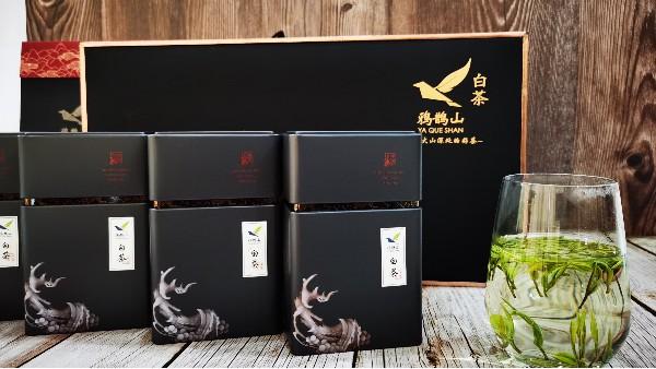 原创茶叶礼盒黑色:高端典范的代表【鸦鹊山】