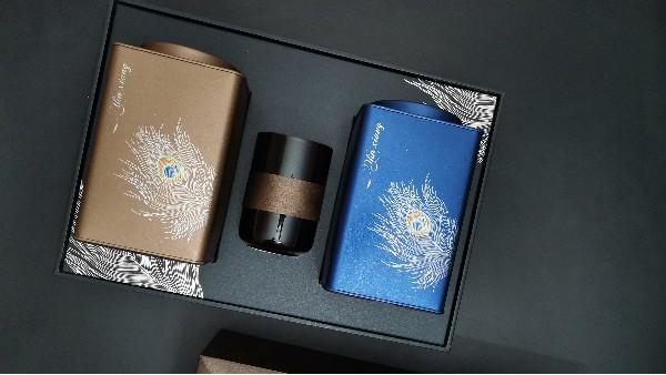 茶叶礼盒装铁罐装:集美观与实用为一体的茶礼包装【鸦鹊山】