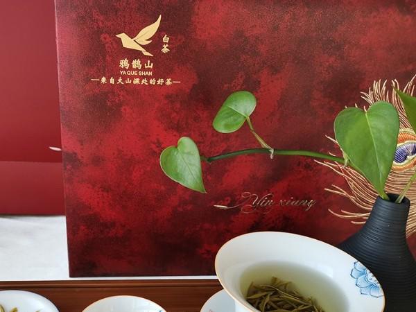 春节茶叶喜气礼盒:爱茶,是国人骨子里的天性【鸦鹊山】