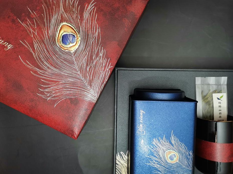 300克规格-鸦鹊山时尚商务款(红色两罐,赠杯子)