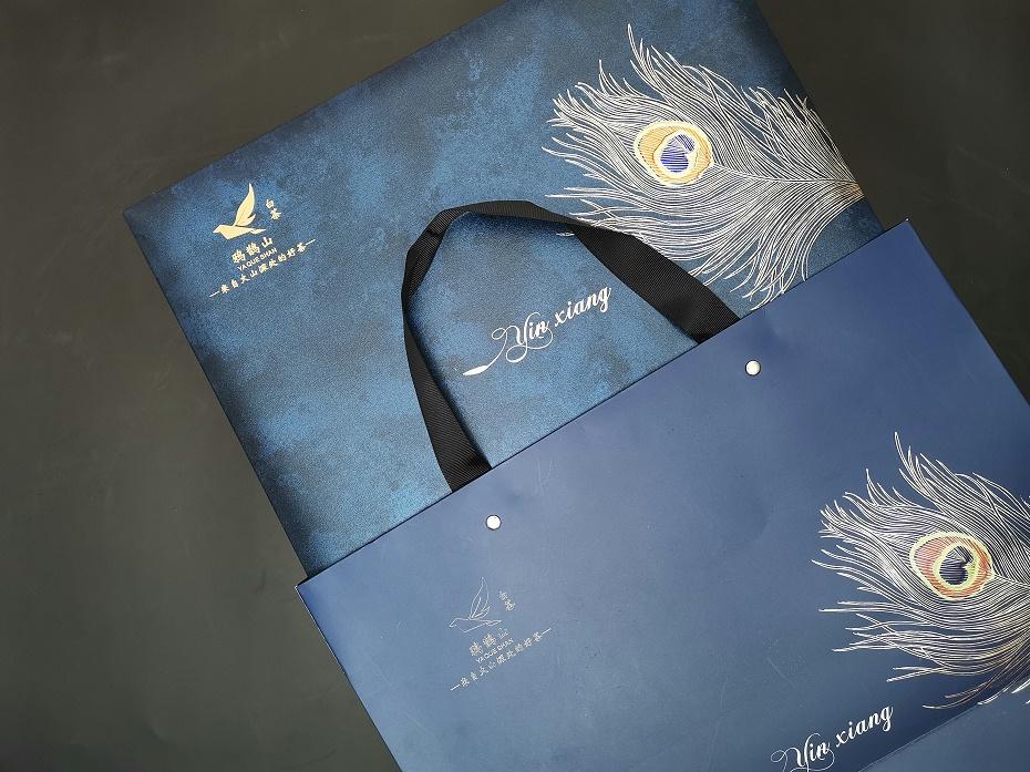 300克规格-鸦鹊山时尚商务款(蓝色两罐,赠杯子)